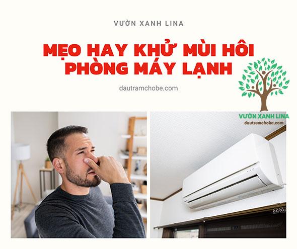 khử mùi hôi phòng máy lạnh