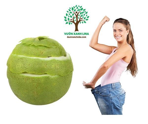 tác dụng của vỏ bưởi giảm cân