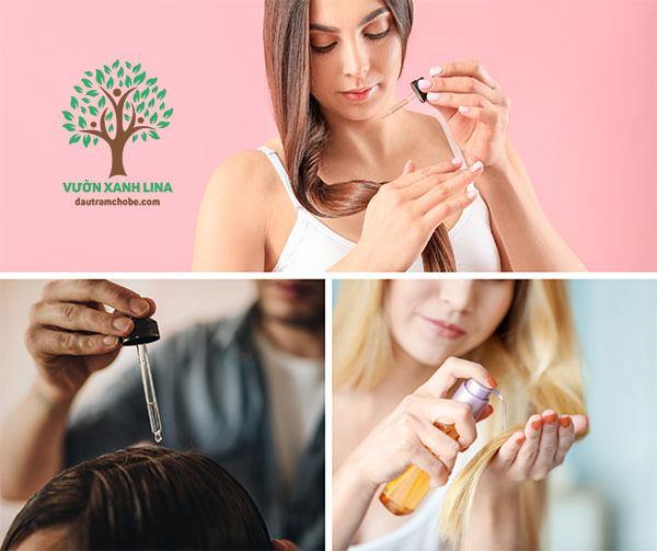tinh dầu giúp mọc tóc